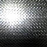 Plaque en aluminium gravée en relief avec la configuration de POINT