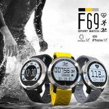 Teléfono elegante del reloj del deporte impermeable al por mayor IP68 de la natación de la fábrica con el monitor del ritmo cardíaco de la pulsera del perseguidor de la aptitud