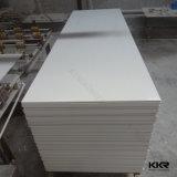La superficie solida acrilica di colore bianco del ghiacciaio di Corian riveste la lastra di pannelli