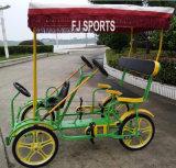 ツーリストのための四輪自転車