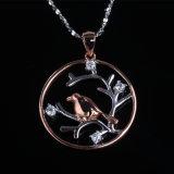 Juwelen van /Necklace van de Tegenhanger van de Manier van het Agaat van de Vorm van de peer de Zwarte