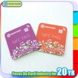 Corrispondenza unica di Qrcode con le modifiche del PVC NTAG213 NFC di numero di serie