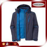 OEM Протягивает-Fabric Windbreaker Waterproof Outdoor Sports 3 in-1 Jacket