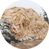ペレタイジングを施す機械をリサイクルするプラスチックフィルム袋