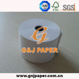 50GSM 55GSM 58GSM White Thermal Paper met plastic Core