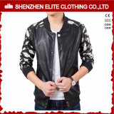 Vente en gros Custom Broderie Bomber Jacket Leather