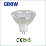 projecteur en verre de 3W MR16/GU10 LED (GR628)