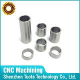 Aislante de tubo dado vuelta CNC por encargo del acero inoxidable de la precisión del OEM