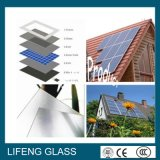 vidro solar para o modelo solar, vidro Tempered de 4mm do baixo ferro
