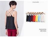 Farben-Form-loses Weste-Frauen-Kleiden des Großverkauf-7