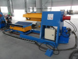 8 Tonnen automatisches hydraulisches Uncoiler mit Ring-Auto für die Rolle, die Maschine bildet