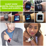 Bluetooth Wristwatches Cell Phone Compatible con el iPhone Wearable Watch Camera (ELTSSBJ-18-10)