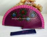 Grand ventilateur espagnol de main de tissu bon marché