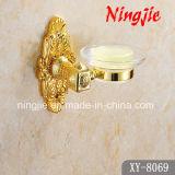 Accesorios de oro del cuarto de baño del color del estilo de lujo (8039)
