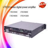 Amplificador de potência da classe H do poder superior DSP da Eu-Tecnologia 12000HD