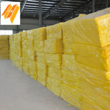 Hoja incombustible de las lanas de cristal de las lanas de cristal del aislante de calor (80kg/m3)