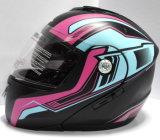 Горячий Flip сбывания вверх по шлему для всадников мотоцикла (LP501)