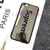 iPhone6/6plus를 위한 결박을%s 가진 주문을 받아서 만들어진 미러 표면 이동 전화 상자