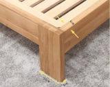 Style agradable Oak Wood Double Bed para Adult y Children (M-X1089)