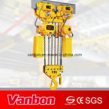 15t Double Lifting Speed Electric Chain Hoist