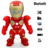 Roboter und motivierter Bluetooth Lautsprecher mit drahtloser Funktion