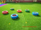 Scool que ajardina a grama sintética para a terra do jogo