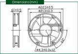 Wechselstrom-axialer maximaler Luft-Fluss-Ventilator