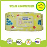Muestras Free High Grade Sensible 80PCS Baby Wet Tissue