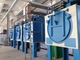Populärer vollautomatischer Durch-Typ industrielle Wäscherei-trocknende Maschine