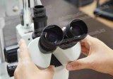 Microscopi stereo binoculari di controllo dell'oculare di FM-Stl2 10X con la macchina fotografica