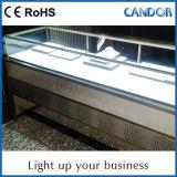 Almacenes de la cadena, contadores cosméticos Gabinete Iluminación LED