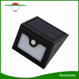 Luz inteligente impermeável infravermelha ao ar livre clara solar brandnew do sensor do diodo emissor de luz da segurança da lâmpada de parede do sensor de movimento de 28 diodos emissores de luz