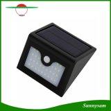 Luz inteligente impermeable infrarroja al aire libre ligera solar a estrenar del sensor de la seguridad LED de la lámpara de pared del sensor de movimiento de 28 LED