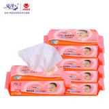 Removedor da composição da qualidade do OEM Wipe molhado do melhor, fabricante do Wipe do bebê