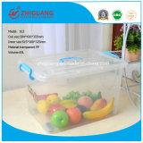 Heißer ablagekasten-Raum-beweglicher Haushalts-Plastikbehälter-Verpackungs-Kasten der Verkaufs-Qualitäts-65L Plastik
