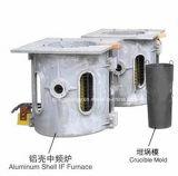 100kg ~ 1000kg Aço, Ferro, Latão, Forno de fusão de indução de prata (GY-SCR100KW)