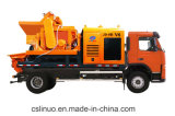 TruckのディーゼルEnergy Forced Concrete Mixer Pump