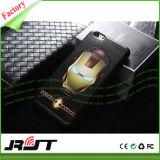 La caja grabada 3D del teléfono de los vengadores TPU para el iPhone 6 6s