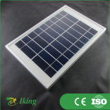 アルミ合金フレームが付いている5W多太陽電池パネル