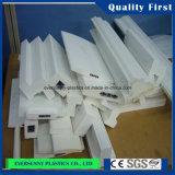 Strato superiore della gomma piuma del PVC di bianco per stampa
