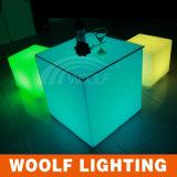 16 colori che cambiano il cubo della mobilia LED di evento del partito