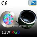 Acero inoxidable IP68 36W RGB piscina subacuática de las luces (JP948124)