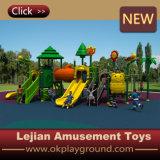 CE populares en EE.UU. plástico al aire libre Zona de juegos para la escuela (12087A)