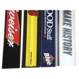 Couvre-tapis en caoutchouc de barre de PVC d'impression fait sur commande de logo