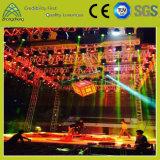 イベントのアルミ合金の正方形の円の照明パフォーマンスコンサートDJの催し物のトラス