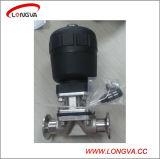 Válvula de Controle Diafragma Aço Inoxidável Sanitária