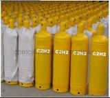 40L黄色の溶解アセチレンシリンダー