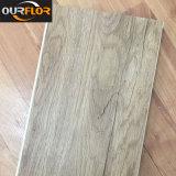 Telhas de assoalho de vinil de grão de madeira WPC recentemente