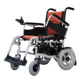 nuevo sillón de ruedas plegable de la potencia 250W con el freno electromágnetico (PW-002)