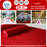 Exhibition와 Wedding를 위한 200-400G/M2 Waterproofing Outside Carpets